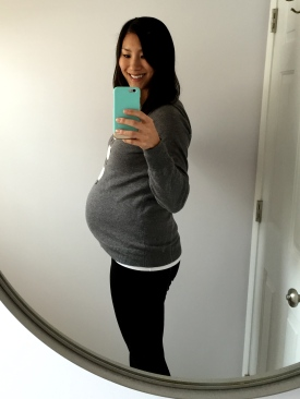24 weeks and 4 days_side